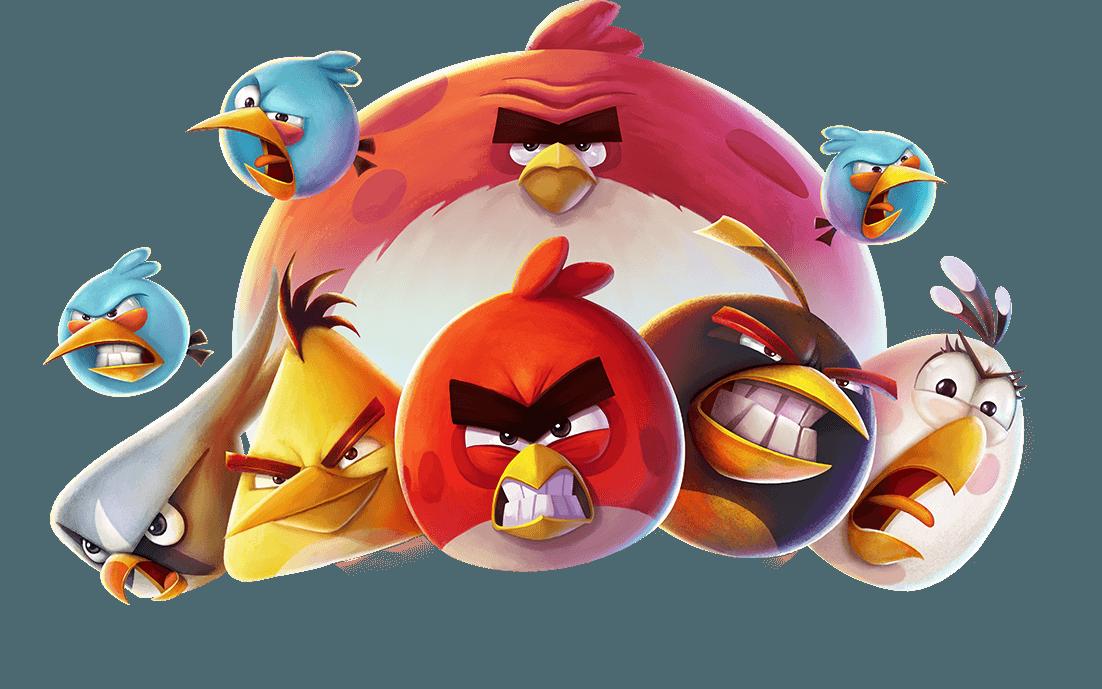 شرح لعبة Angry Birds