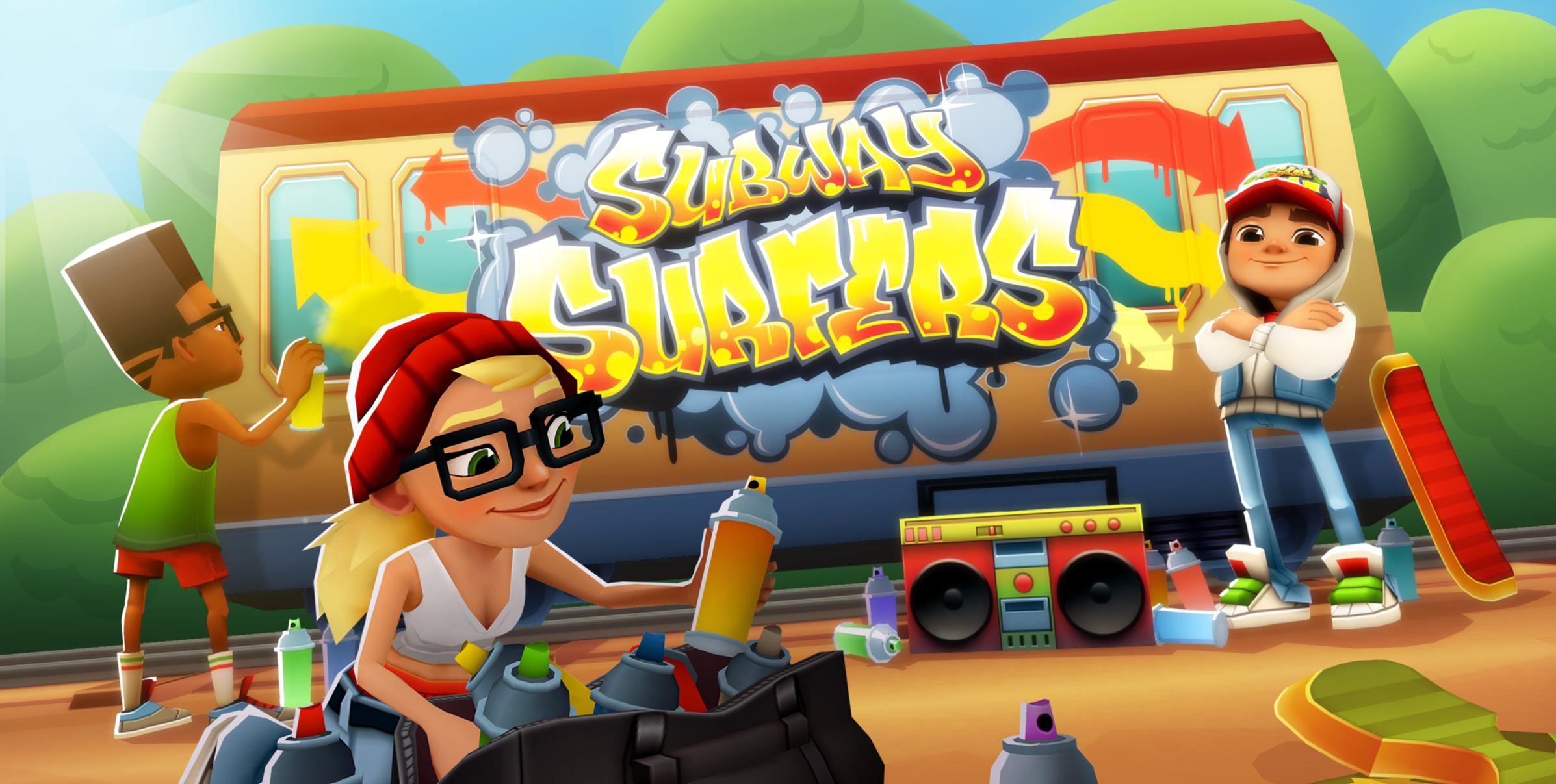 شهرة لعبة Subway Surfers