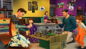 صورة من احداث لعبة The Sims