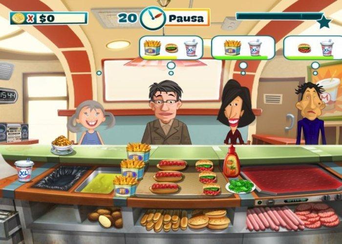 صورة من اعدادات لعبة هابي شيف