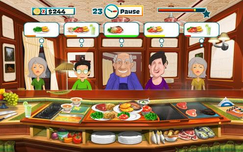 صورة من واجهة لعبة هابي شيف