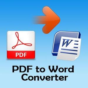 امكانية استخراج الصور من برنامج Converter PDF to Word للكمبيوتر