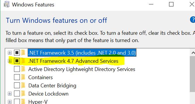 انشاء وصناعه التطبيقات علي برنامج NET Framework