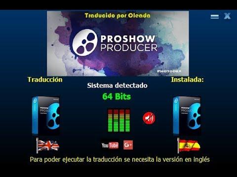 تعدد اللغات في برنامج Proshow