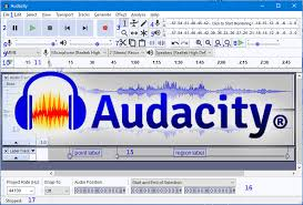 شرحبرنامج audacity