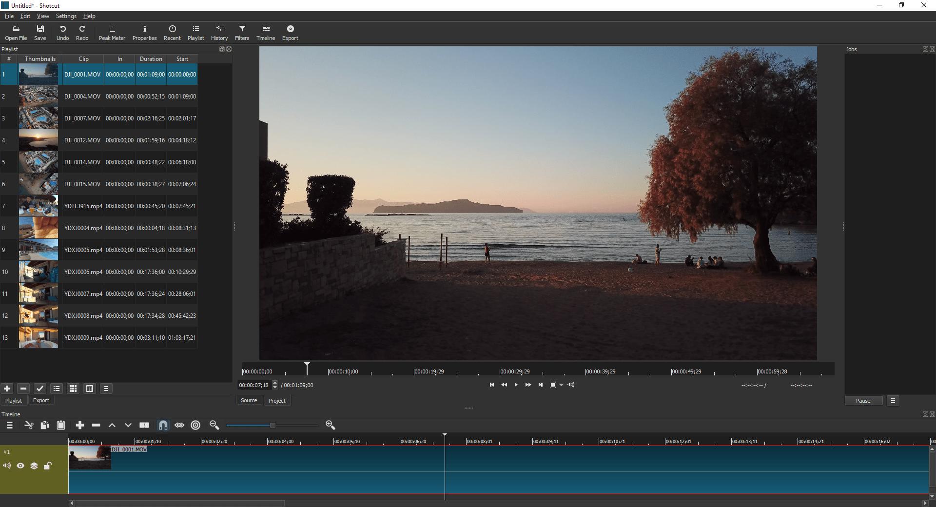 واجهة برنامج ويندوز موفي ميكر اخر اصدار