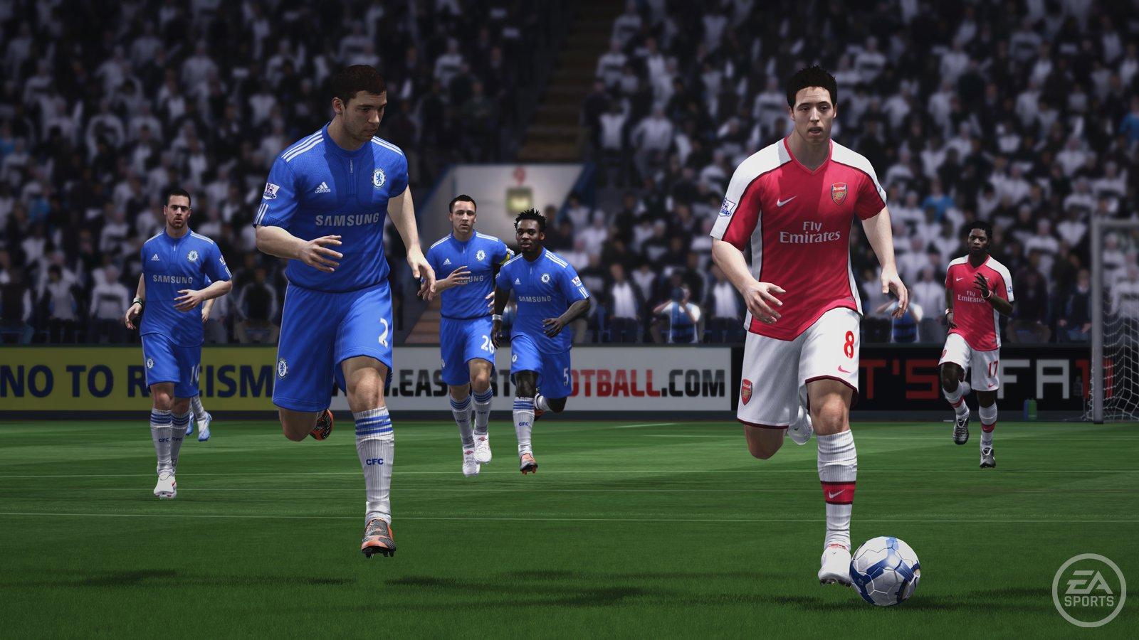 اضافة اللمسات الجديدة في لعبة فيفا 2011 FIFA للكمبيوتر