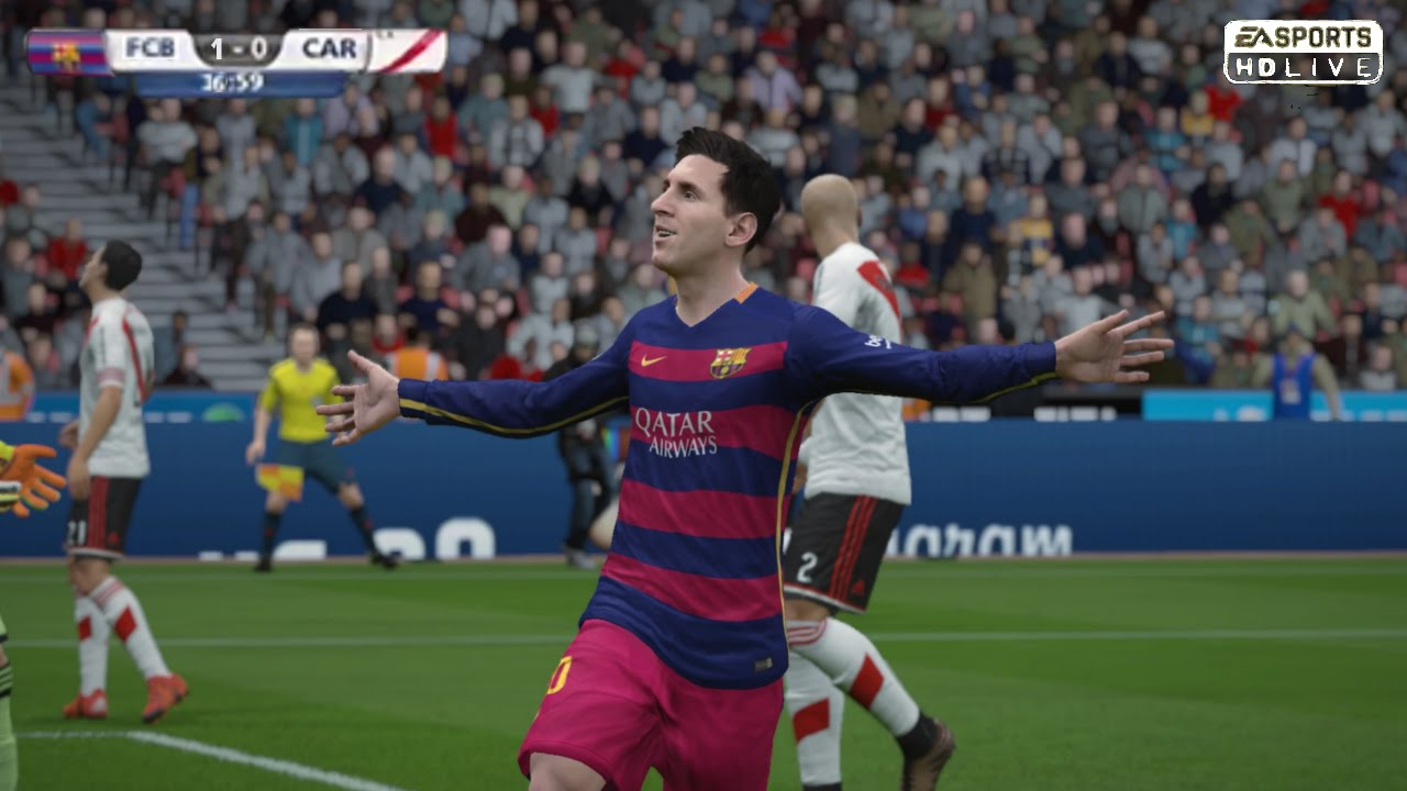 المؤثرات في لعبة فيفا 2015 fifa للكمبيوتر