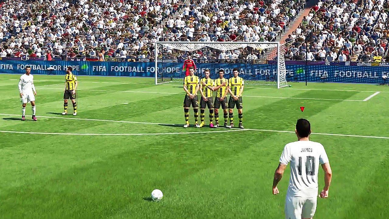 تقنيات مهاجمة جديدة في لعبة فيفا 2017