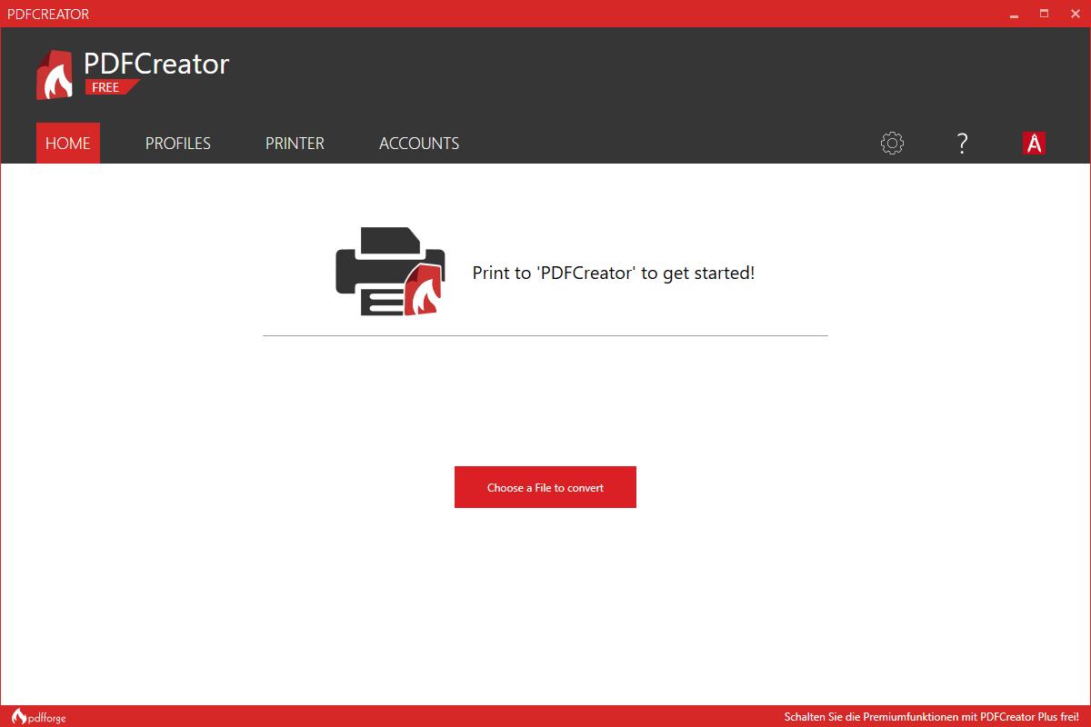 سهولة استخدام برنامج PDF Creator للكمبيوتر