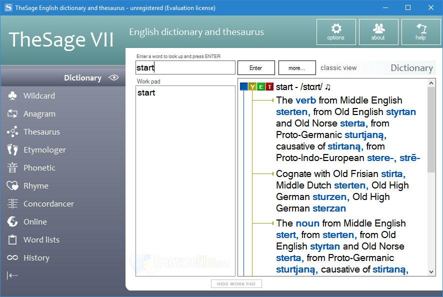 توافق قاموس انجليزى عربى Dictionary للكمبيوتر