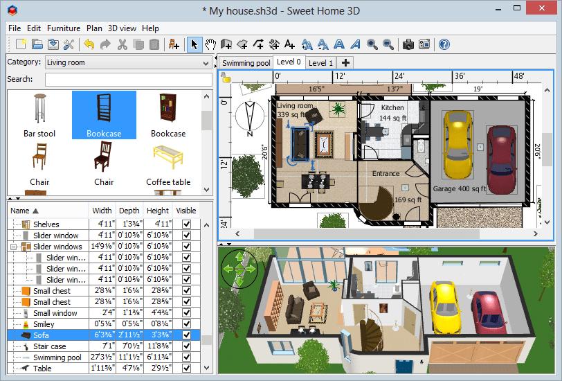 شرحبرنامج تصميم المنازل