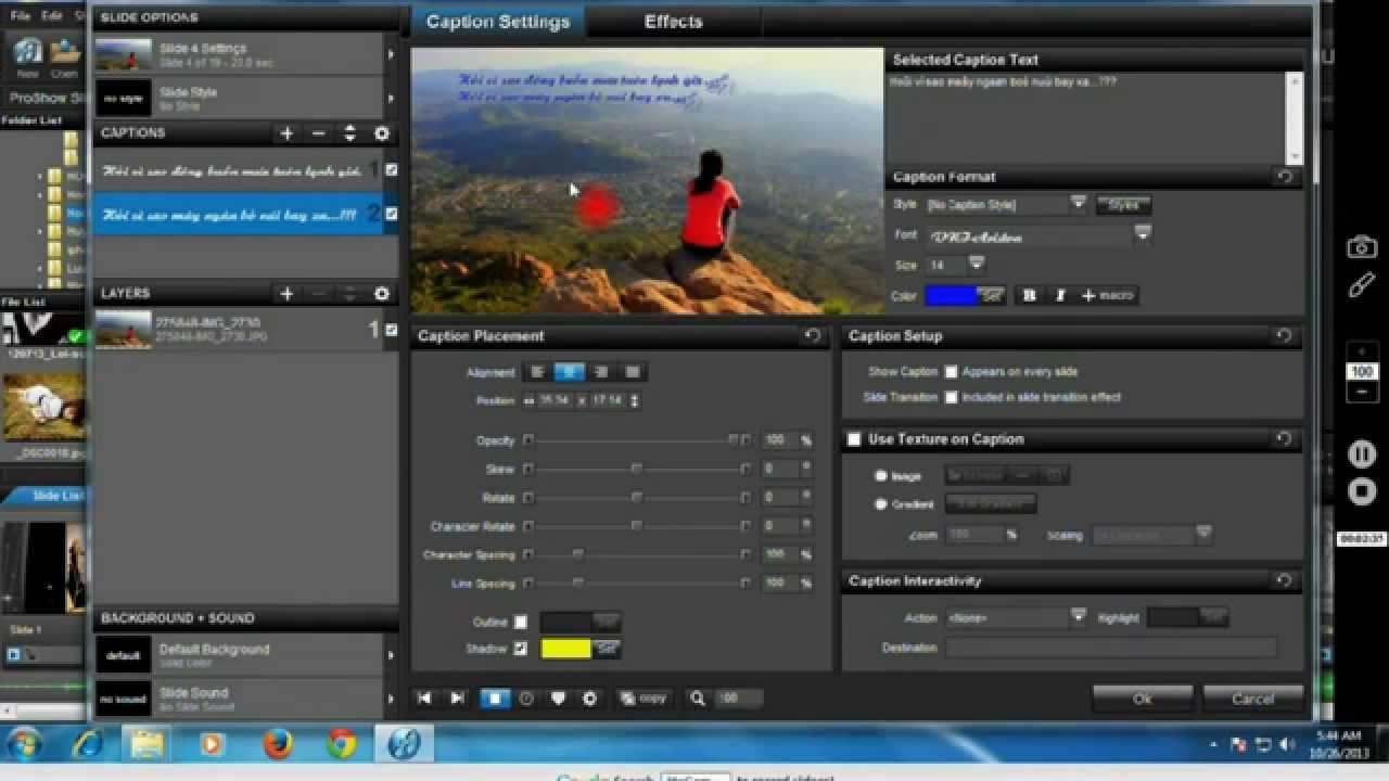 امكانيه عمل فيديو من خلال برنامج ProShow Producer للكمبيوتر