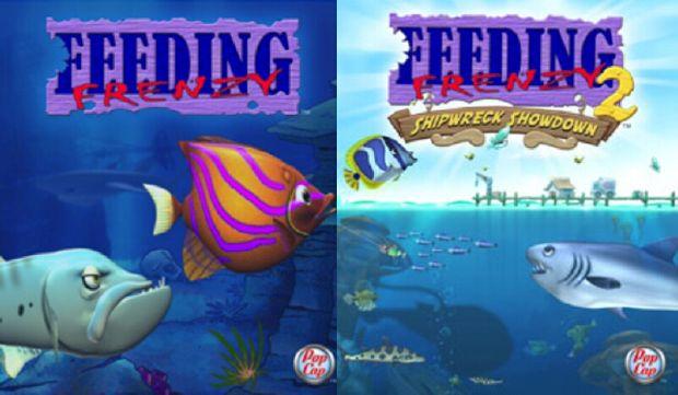 شرح لعبة Feeding Frenzy 1