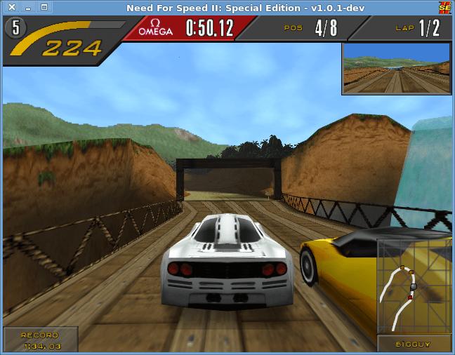 شرح لعبة Need for Speed II