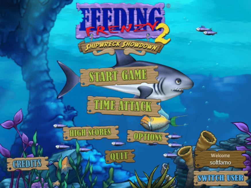 لعبة Feeding Frenzy 2