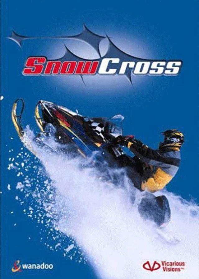 مسارات السباق في لعبة موتوسيكلات الجليد snow cross للكمبيوتر