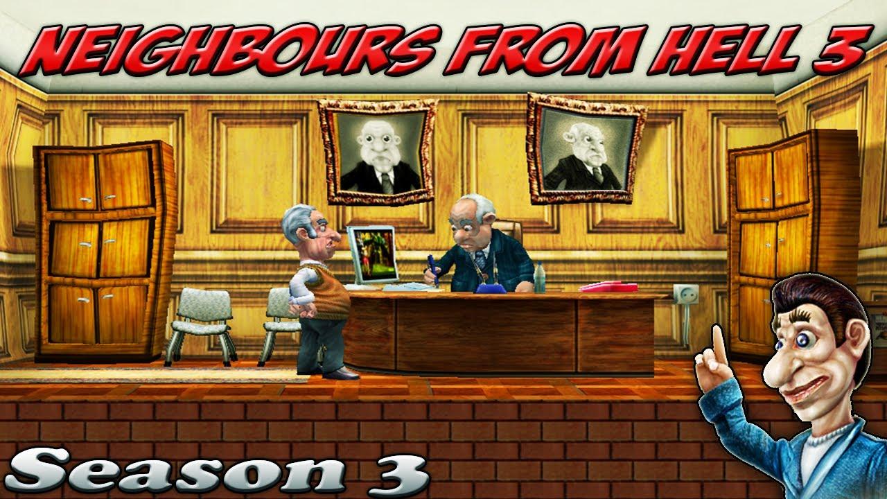 تعدد المراحل في لعبة 3 neighbours from hell