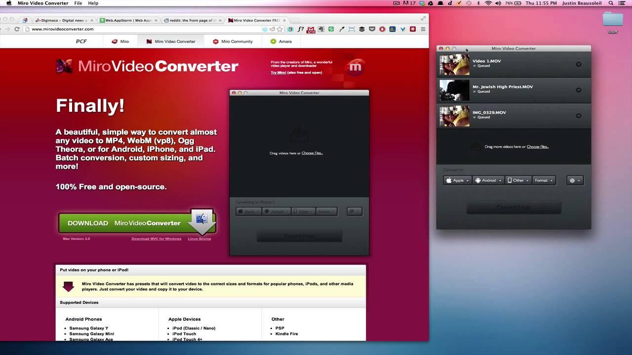 شرح برنامج تحويل الفيديو الى MP4