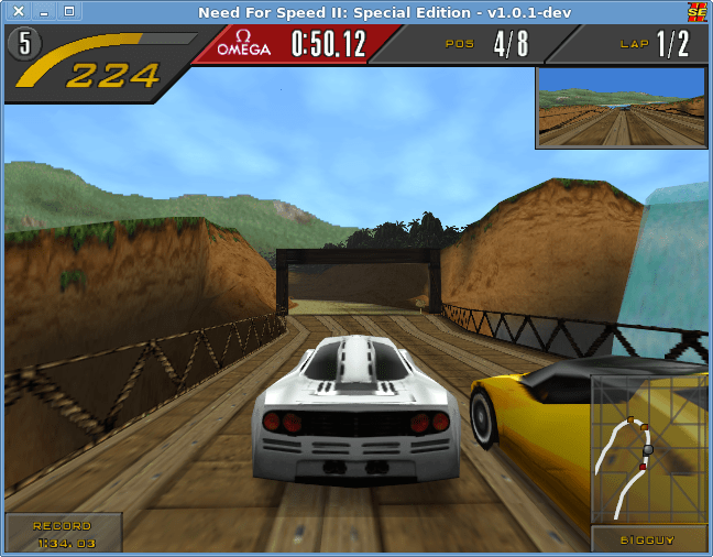 شرح لعبة Need for Speed II